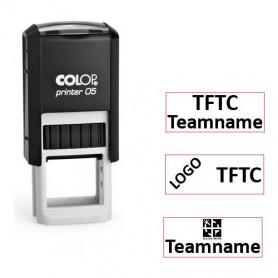 Log stempel - Printer - 6x15 mm - Eigen tekst/logo